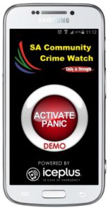 SA Community Crime Watch inc SA CARES ( SA COMBINED ACTION RESPONSE)  is proud to announce the launch of its Mobile Panic Button